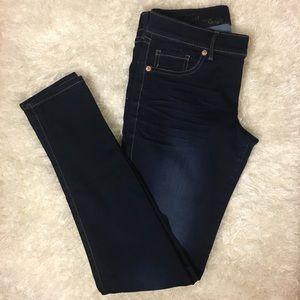 Express Jeans - Express Dark Wash Jeggings, Sz 4r